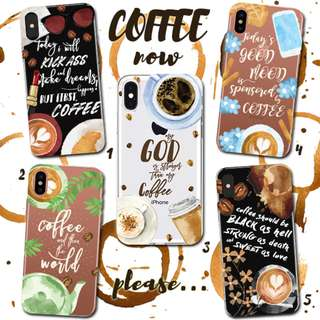 Custom Case Casing HP - Coffee Now