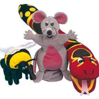 Jolly Phonics Puppets Set of 3