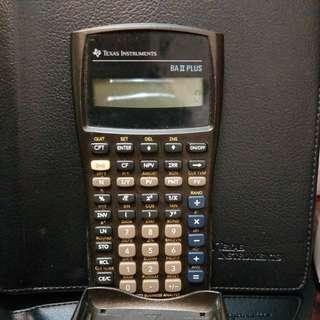 TEXAS Calculator BA īī PLUS, CFA Pupose
