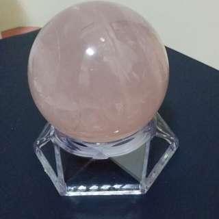 粉晶球-中型大