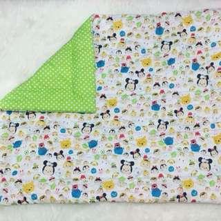 Bedcover anak tsum green
