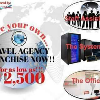 Want to have your own business travel agency?