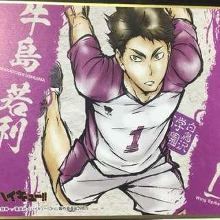 [Haikyuu!!]Ushijima Wakatoshi Card