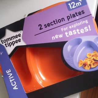 Clearance - TT Explora Section Plates Twin pack - Orange