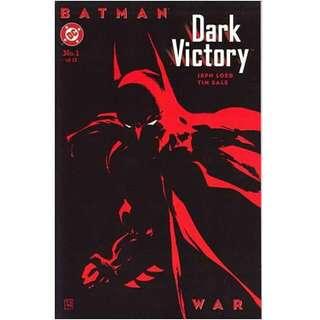 BATMAN  DARK VICTORY #1 (1999) Prestige Format