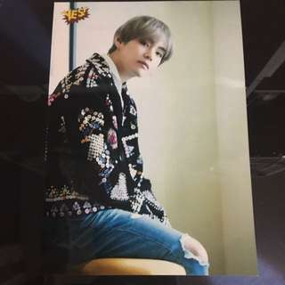 Bts v yes card 5R相 全新