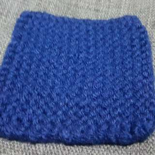square knitted coaster (handmade)