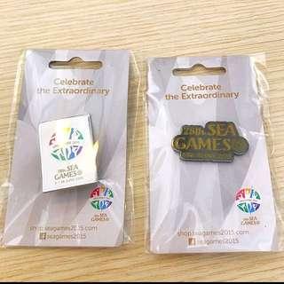 BN 2015 SEA games collectible badges