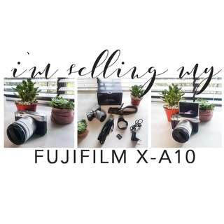 Fujifilm X-A10 Mirrorless Camera (Barely Used!)