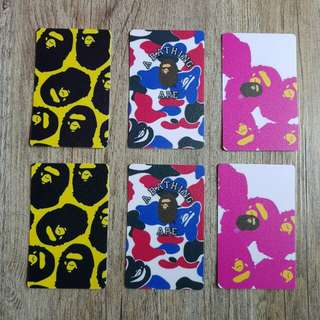 Bathing ape ez link stickers