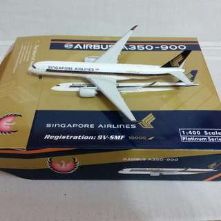 Phoenix 1:400 SIA Airlines A350 - 900 ( 10,000th Livery )