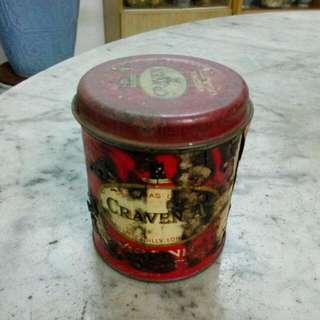 Craven A Cigarettes Round Tin Vintage