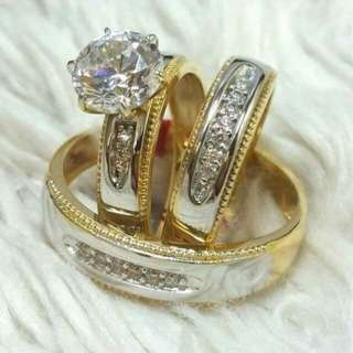 18K Couple Ring Pawnable