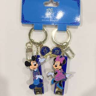 Selling Brand New Authentic Disney Keychain Nail clipper Mickey Minnie Tsum Tsum