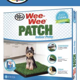 Grass pet tray wee wee patch indoor pee tray
