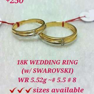 18K Couple Ring Pawnable