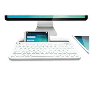 Logitech Bluetooth Multi-device Keyboard K480 (White)