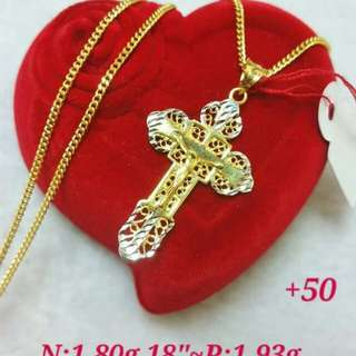 18K necklace pawnable