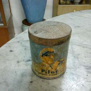 Pilot Cigarettes Tin Vintage