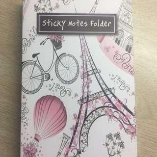 Sticky Notes Folder (Paris)