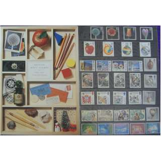 British Mint Stamps - Co;;ectors Pack 1987