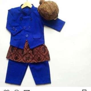 Batik boy set