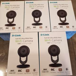 D-Link DCS-2630L Full HD 180-Degree Wi-Fi Wireless Camera CCTV