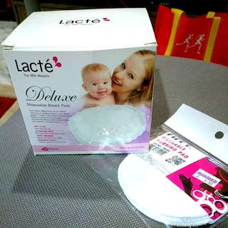 Lacte deluxe disposable breast pad, fiffy washable nursing pad #maternity #nursing #baby #breastfeeding