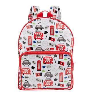 Red Bus Bagpack