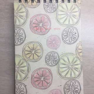 Fruit Slices Notepad