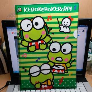 Keroppi A4 File