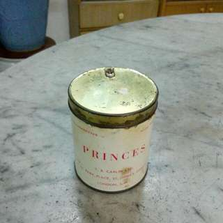 Princes Cigarettes Tin Vintage