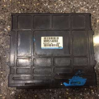 Waja 4G18 Manual  ECU Box