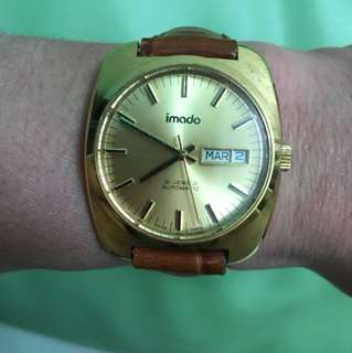 95%new,swiss made imado automatic watch