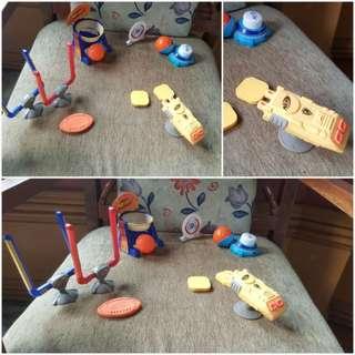 Nerf  mcdonald's toys