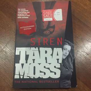 Autographed Edition - Siren by Tara Moss