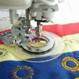Low Shank Flower Stitch Foot Fit Janome Brother Singer Toyota Sewing Machine