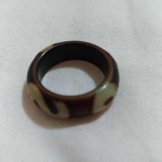 天珠老戒指