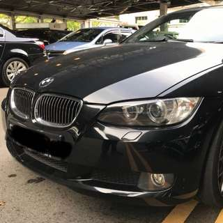 BMW 325 Coupe Black Mileage 157km