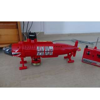 Nikko Remote Control Submarine - Shark Hunter (Band 3)