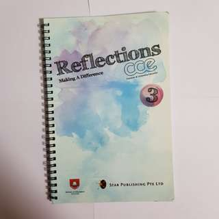 CCE Reflection Book