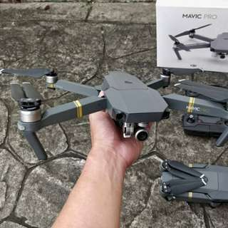 DJI Mavic Pro Set Drone With 2 Batteries