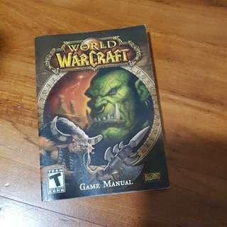 World warcraft manual