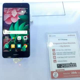 Kredit Huawei Y7 Prime Proses Cepat