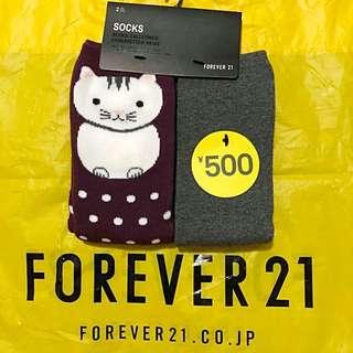 Brand New Auth Forever 21 Socks