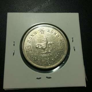 1960kn 膽 1元有光澤