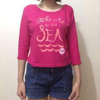 """""""Take Me to The Sea"""" Long Sleeves Brand New W/ Tags"""