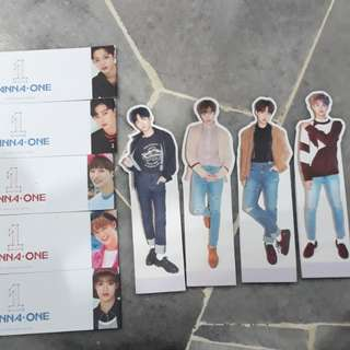 WANNA ONE OFFICIAL STANDEE AND SLEEVE