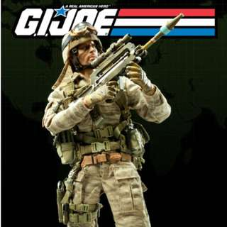 """Sideshow Collectibles - 1/6 GI Joe : Desert Trooper (Dusty) - 12"""" Collectible Action Figure - Excellent Condition_NIB_Sideshow Collectibles_Soldier Story_Damtoys"""