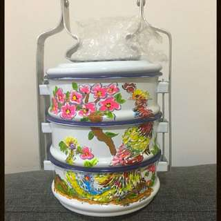 HandPainted mini 3 Tier Tingkat